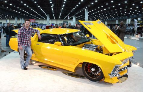 JF Launier and his 2014 Ridler Award-winning Riviera
